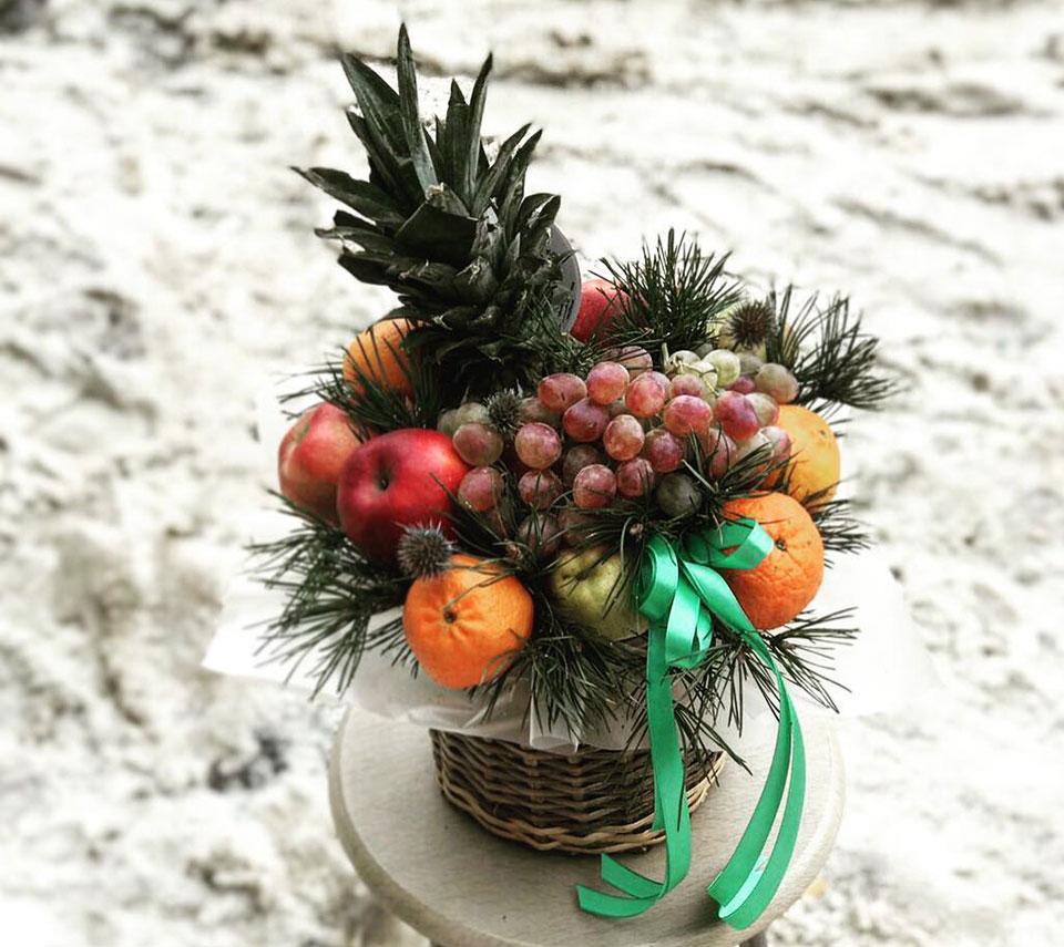 фруктова композиція | flower-power.rv.ua