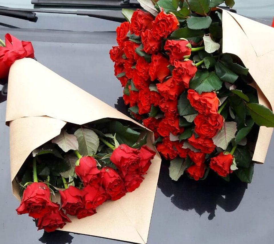червоні троянди | flower-power.rv.ua