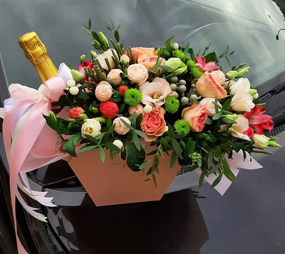 коробка на весілля | flower-power.rv.ua