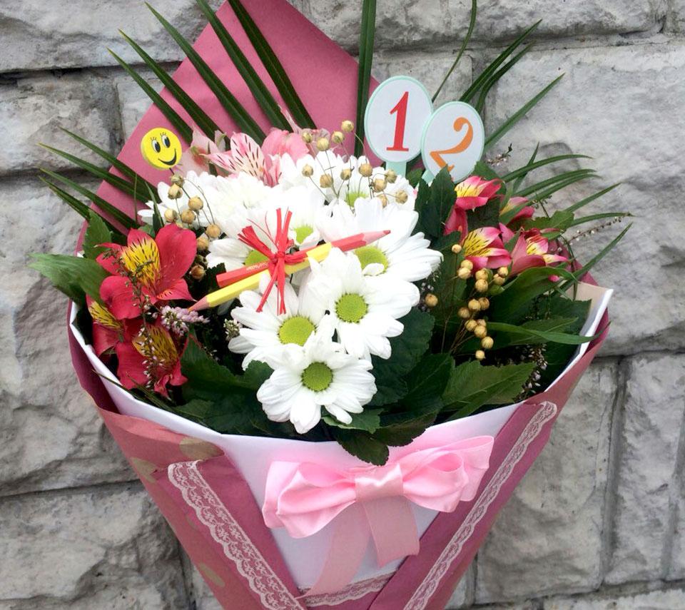 букет на перший дзвоник | flower-power.rv.ua
