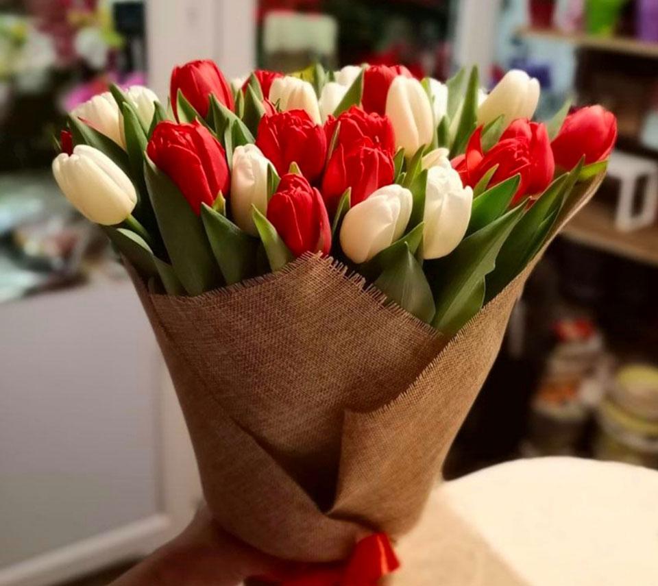 букет тюльпанів | flower-power.rv.ua