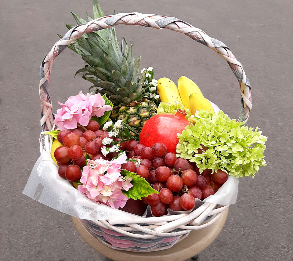 кошик з фруктами | flower-power.rv.ua
