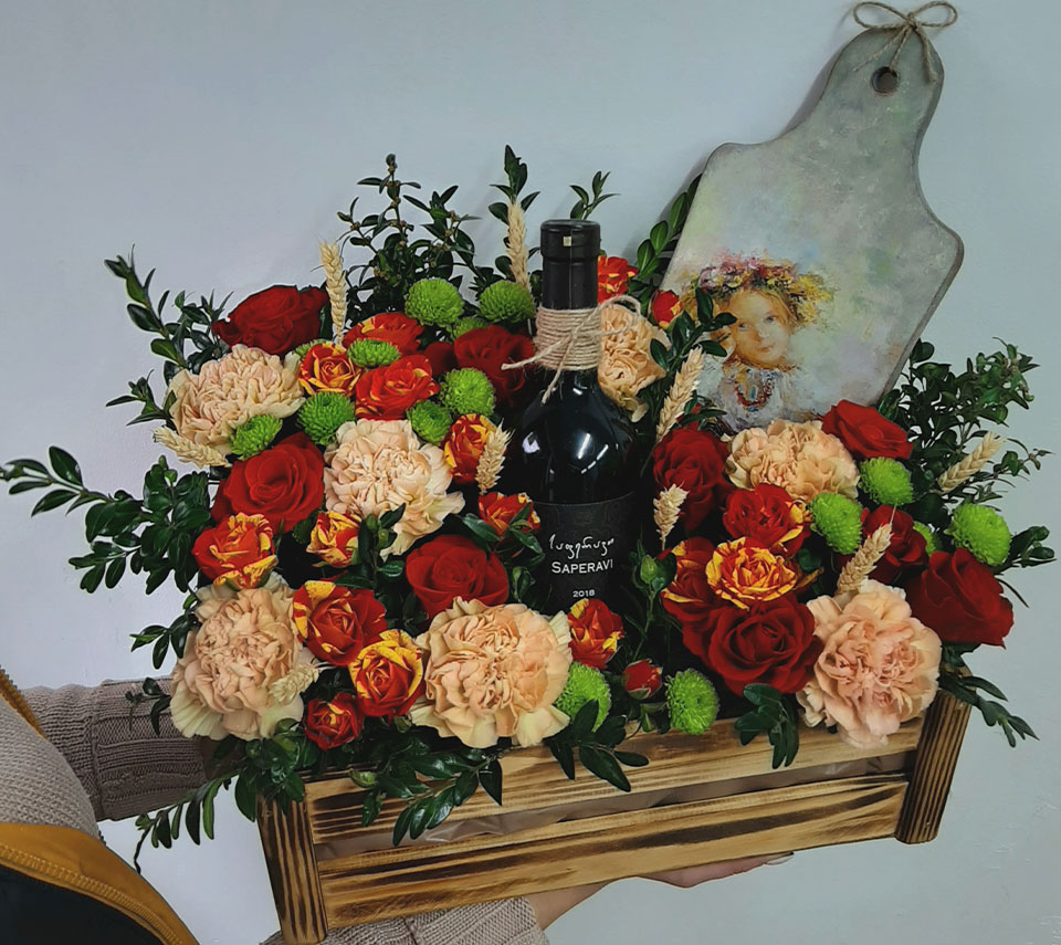 квіткова коробка | flower-power.rv.ua