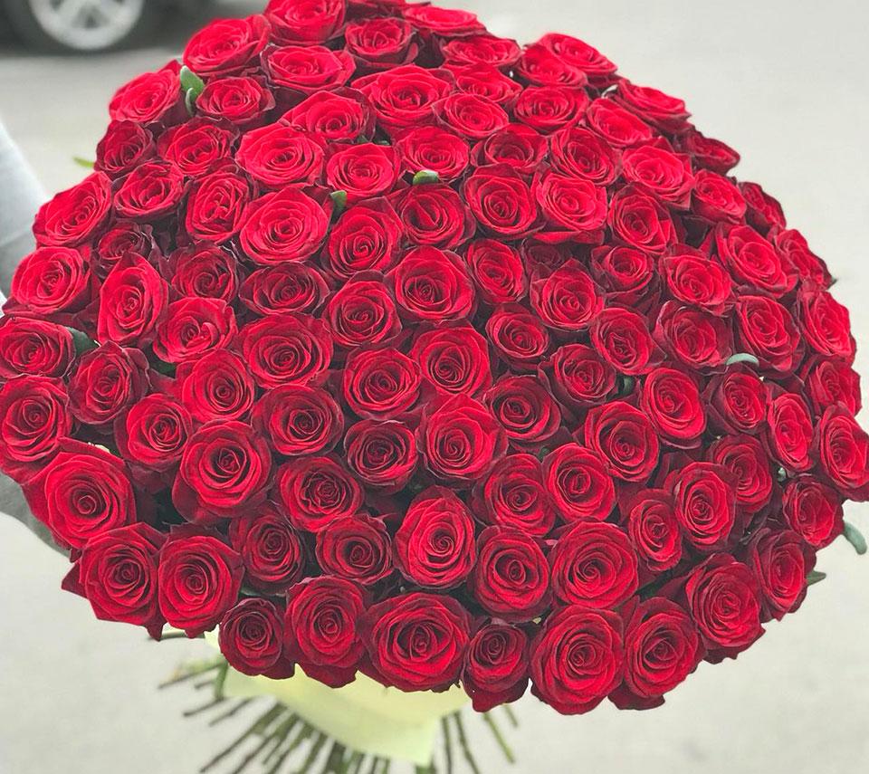 дуже великий букет | flower-power.rv.ua