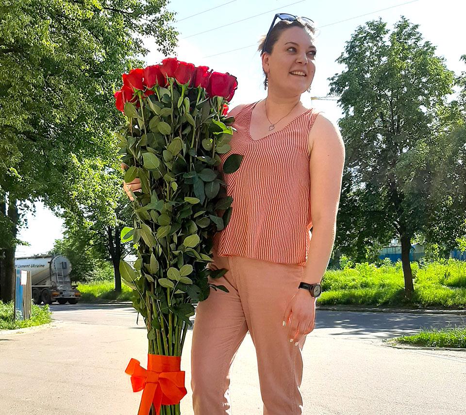високі троянди | flower-power.rv.ua