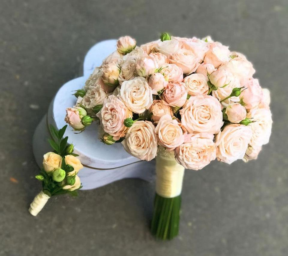 ніжний букет для нареченої | flower-power.rv.ua