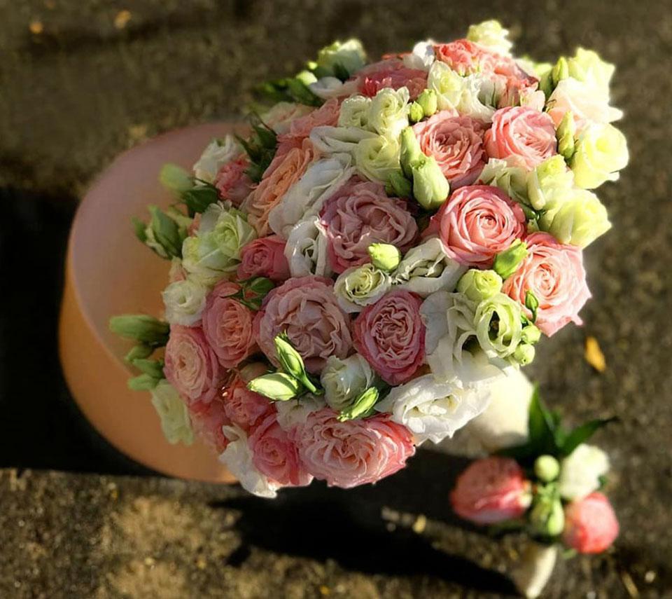шикарний весільний букет | flower-power.rv.ua