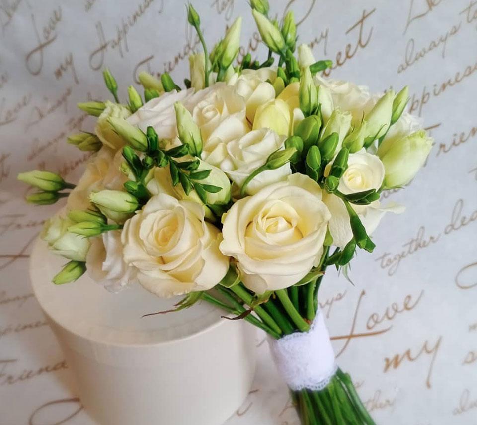 букет нареченої білий | flower-power.rv.ua